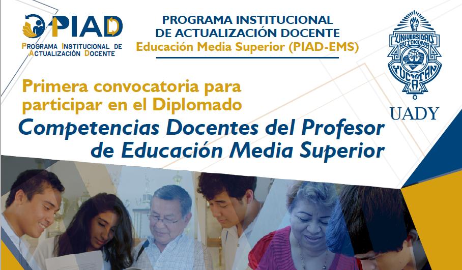 <h2>Participantes aceptados para la primera promoción del PIAD EMS.</h2><p>PIAD EMS<p>